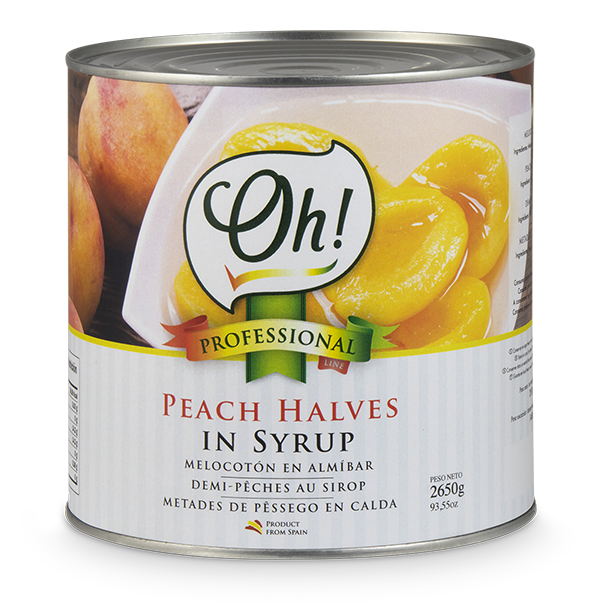 Peach Halves in Syrup
