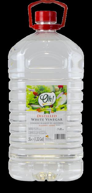 Botella vinagre blanco